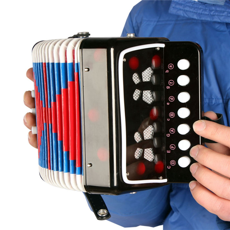 US $18 73 32% OFF|ADDFOO Mini Small Children Keyboard Accordion Rhythm  Educational Band Toy for Kids Musical Instrument Keyboard 3 Colors-in  Accordion