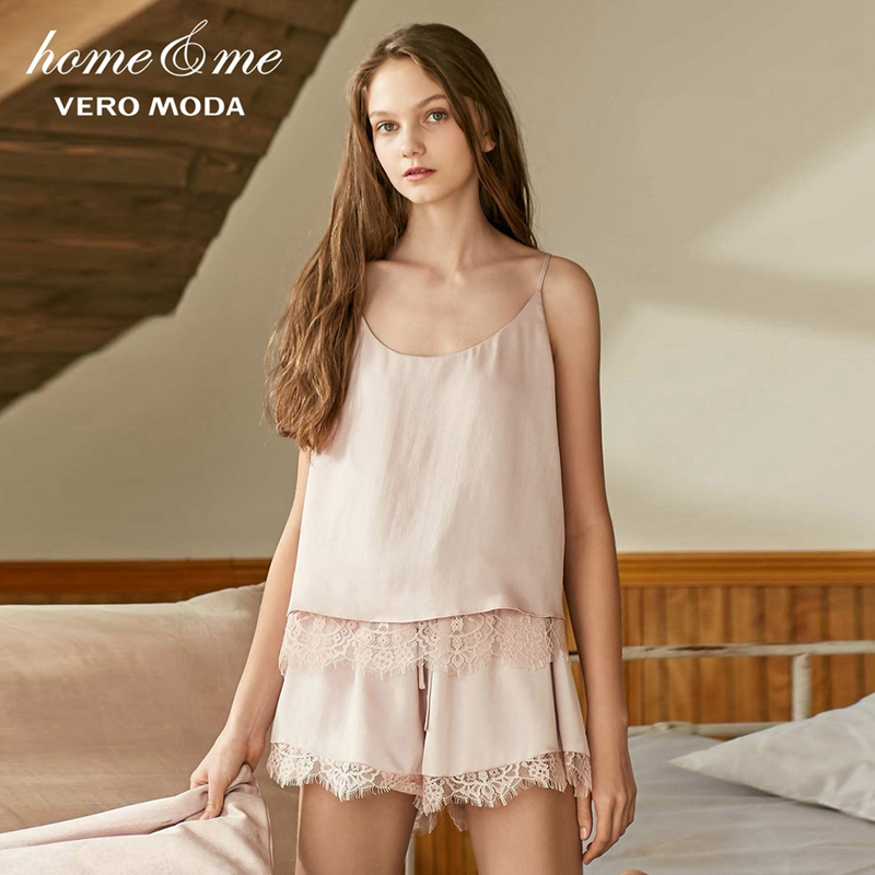 Vero Moda 2019 New Women's Comfortable Lace Strap Tops & Shorts | 3191TC501