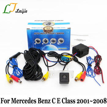 For Mercedes Benz C E Class W203 W211 2001~2008 / HD CCD Auto Parking Rear View Camera / Vehicle Back Up Reverse Camera NTSC PAL