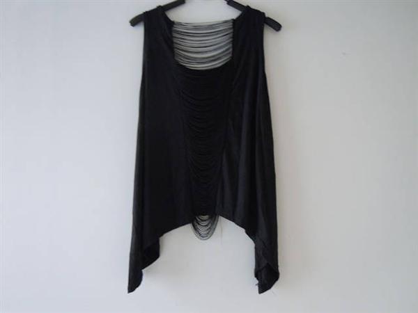 Camiseta sin mangas para mujer, blusa regata, corpiño para mujer, brandy melville, calado, Camiseta estampada con Calavera, chaleco de encaje para mujer F390 8