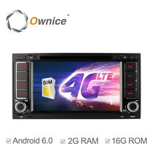 Ownice C500 Android 6.0 Quad Core 2GB RAM Car DVD Player for VW Touareg Multivan With Wifi GPS Radio Support 4G SIM LTE Network