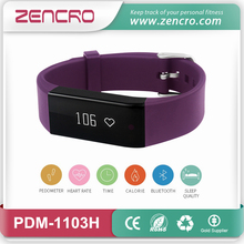New Release Wireless Heart Rate Pulse Wristband Smart Fitness Tracker