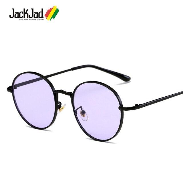 1c846659a18 JackJad New Fashion Tint Ocean Lens Round Style Sunglasses Eyewear Frame  Women Vintage Brand Design Sun Glasses Oculos De Sol