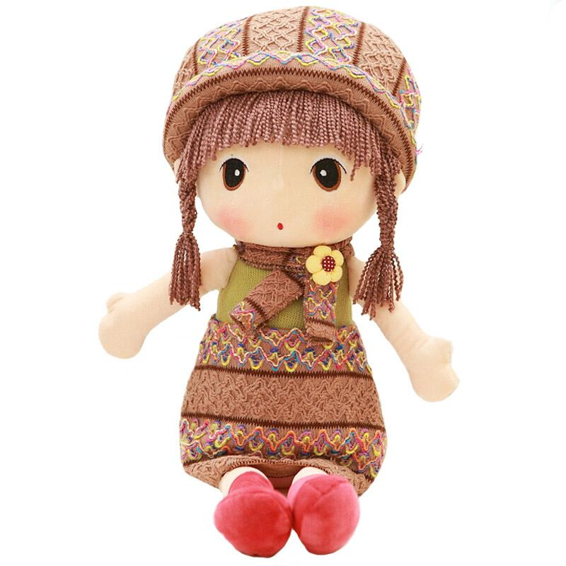 New Arrivals Kawaii Beautiful Dolls Toys For Children Girls Christmas Gifts kawaii pvc flocked dolls furry animals cars and desk decorate cute dolls exquisite collection flocking toys gifts for new year
