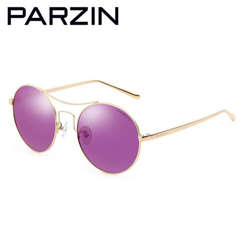 gold Mit Sliver Fahren Metall Orange sliver Männer Runde Pink Purple Gray Fall gold Gläser Polarisierte gold Vintage Sonnenbrille Übergroßen 8086 Blue Parzin Shades sliver Frauen UPS8nA