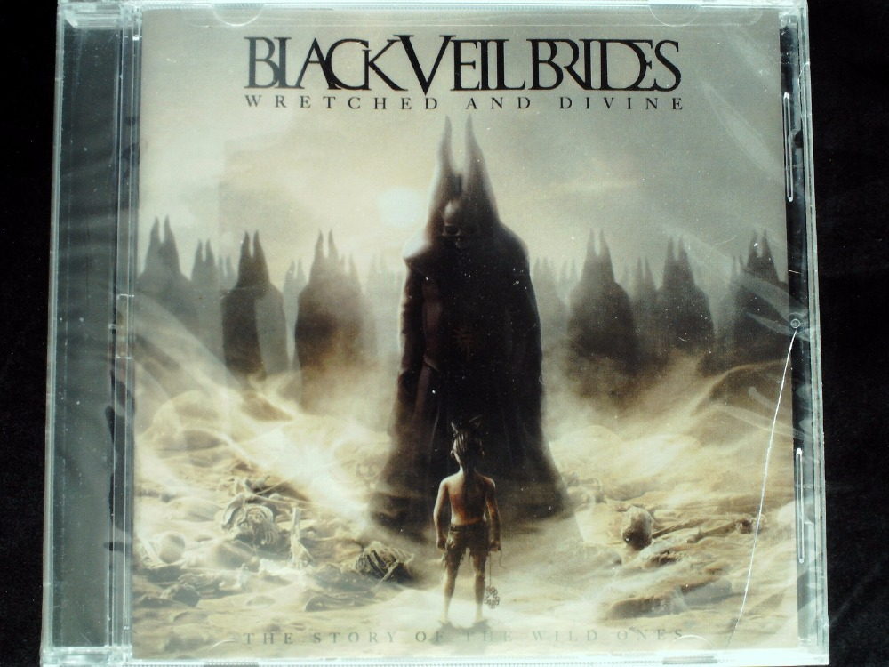 Black Veil Brides - Wretched And Divine: The Story Of The USA Original CD SEALED Jewel case damaged