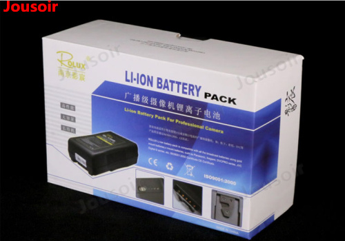 Camera lamp battery BP large lithium battery quality is super stable 14.8V camera V port CD50 - 4