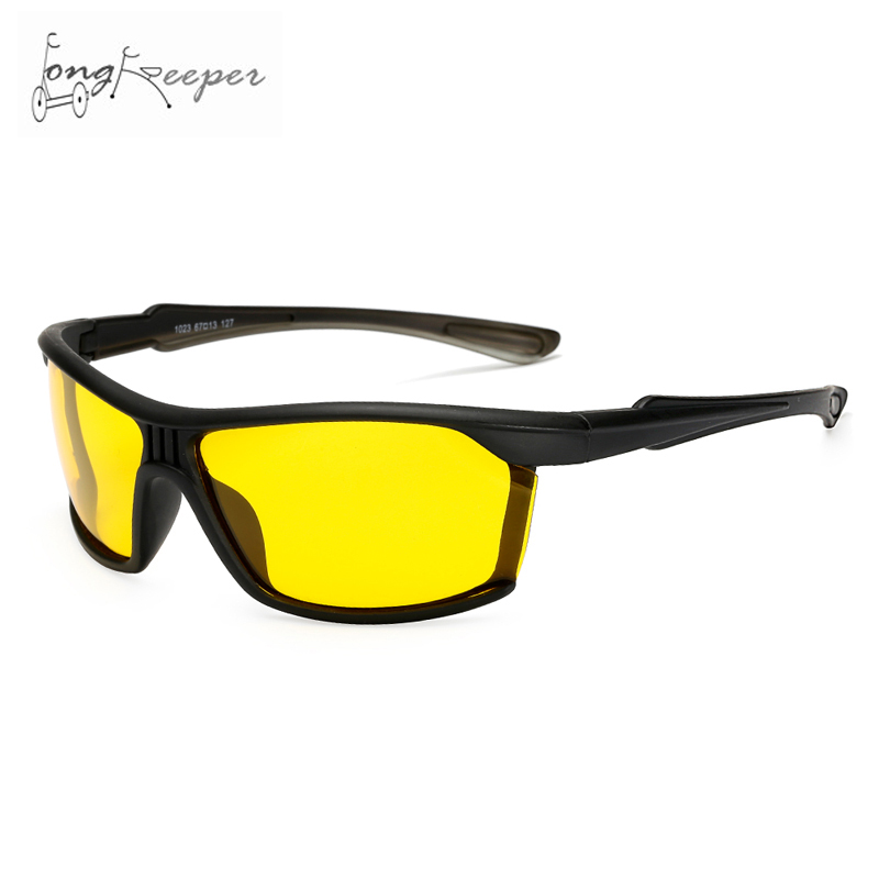 Long Keeper New Style Polarized Night Vision Glasses Cycling Biking Motorcycling Riding Sports Eyewear