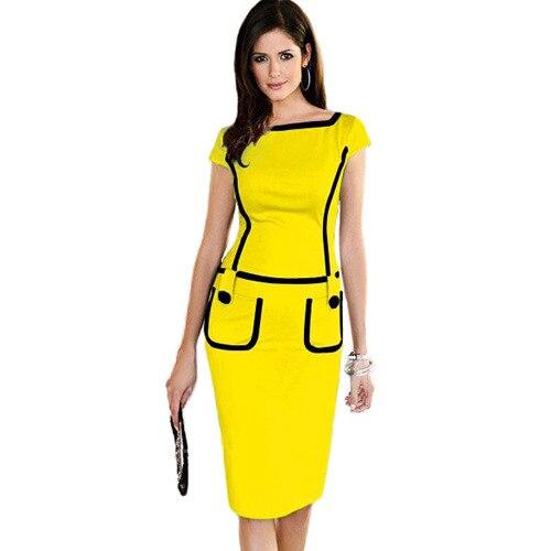 Online Get Cheap Office Wear Dresses Designs -Aliexpress.com ...