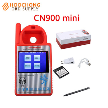 2017 High quality Smart CN900 Mini Transponder Key Programmer Mini CN 900 Copy 4C/4D/46/G chips Support Online Update