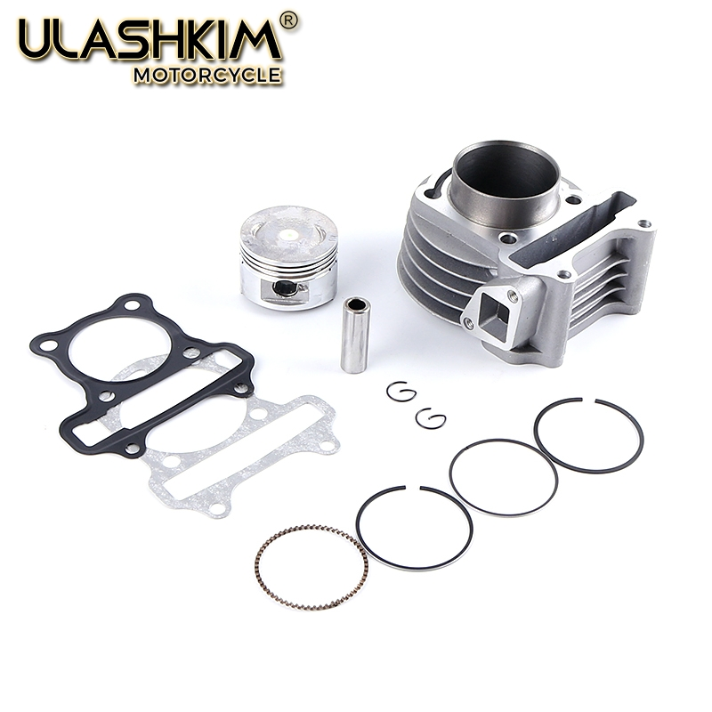 JIA Motor-GY6 50 60 Upgrade zu GY6 80cc Big Bore Pin Dichtung Kit Für GY6 50cc 139QMB 47mm Chinesische Roller