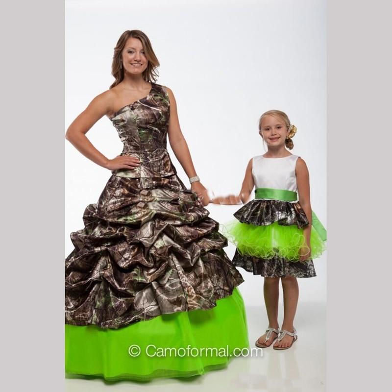 Camo Wedding Dress Sash