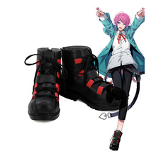Division Rap Battle DRB Amemura Ramuda Hypnosis Mic Cosplay Boots Anime Shoes Custom Made