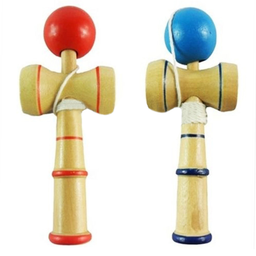 Best Sale Child Kendama Ball Relaxation Wood Toys Classic Balance Skill Fancy Toy