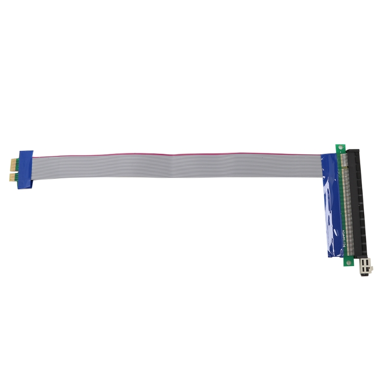 PCI-Express PCI-E 1X To 16X Riser Card Ribbon Extension Relocate Adapter Cable - L059 New hot