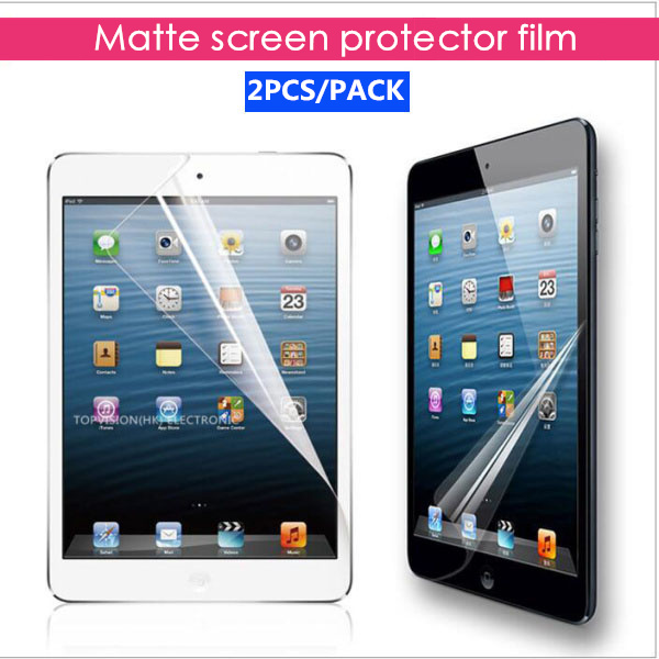 2PCS/Pack Good matte screen protector for apple new 2017 ipad pro 9.7 air 1 2 anti glare protective film cover protective matte frosted screen protector film guard for nokia lumia 900 transparent