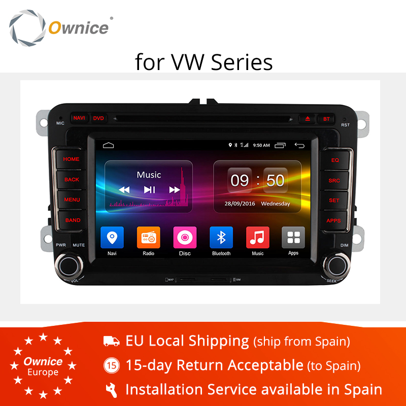 Ownice C500 8 Núcleo Android 6.0G ROM 32 rádio do carro dvd player para Volkswagen passat polo golf jetta GPS stereo 4G Rede LTE