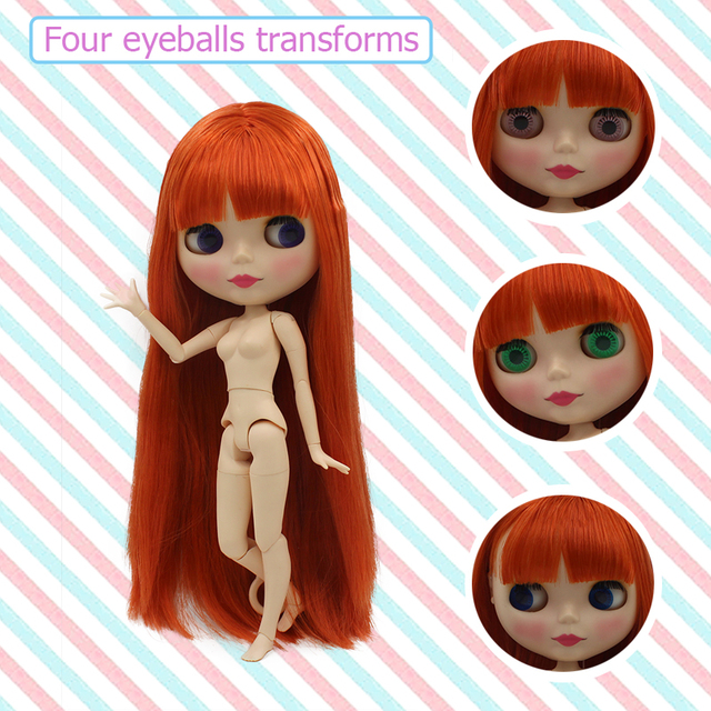 Factory Neo Blythe Doll Matte Skin Jointed Body 15 Options 30cm