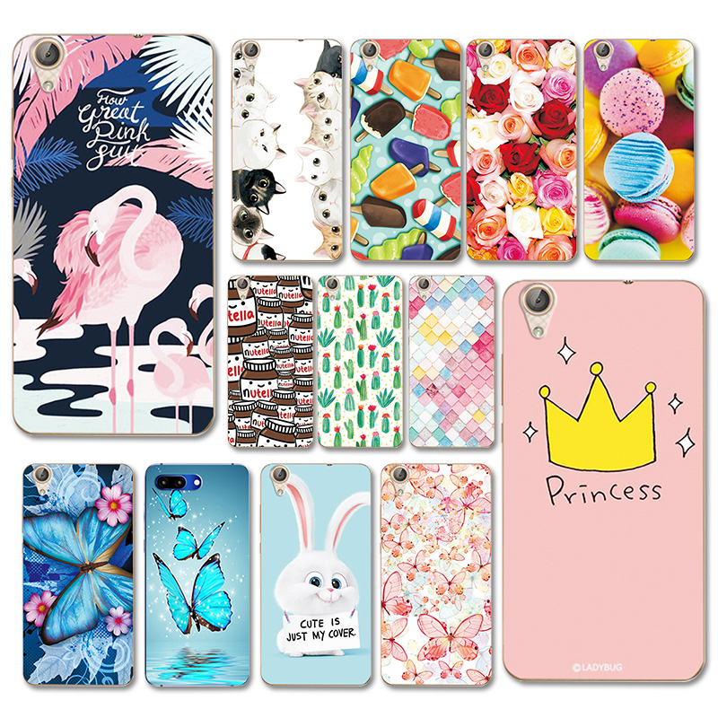 Hot Sale Various Painting Soft Silicone Case For Huawei Y6 2 CAM-L21, Cute Colorful Fundas Back Cover For Huawei Y6 Ii Y6ii 5.5