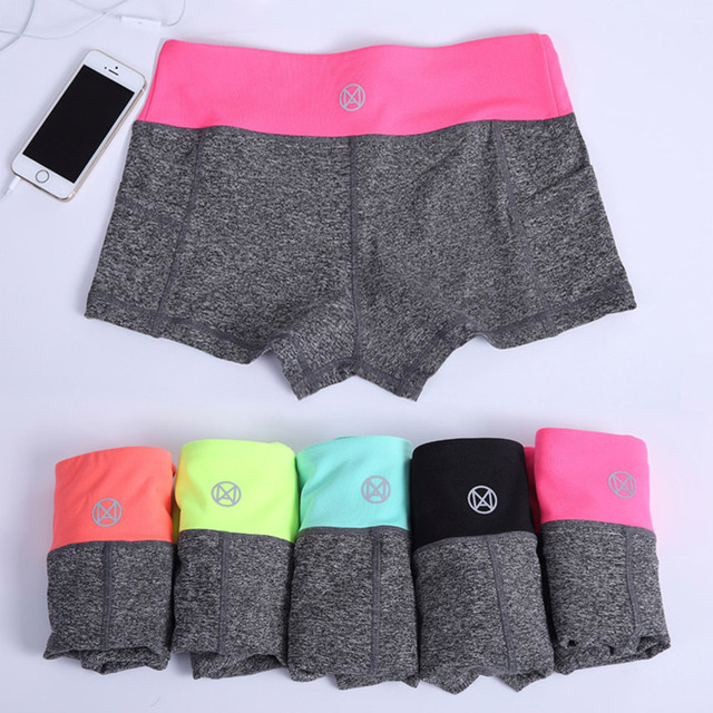 Women Training Quick-dry Shorts High Elastic Gym