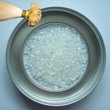 100g włoski keratyny klej w granulkach, nietoksyczny, bez smaku, wysoce krystalicznej polimeru, dla keratyny Fusion do paznokci ziarna koraliki 3 kolor