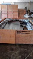 Szanghaj Chiny fabryka produkcji kute Żelazne drzwi wysokiej jakości eksport do USA, model hench-ad8