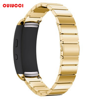 Samsung Gear Fit2 Watch Bands, Stainless Steel Bracelet Smart Watch Strap With Unique Magnet Clasp for Samsung Fit 2 SM-R36