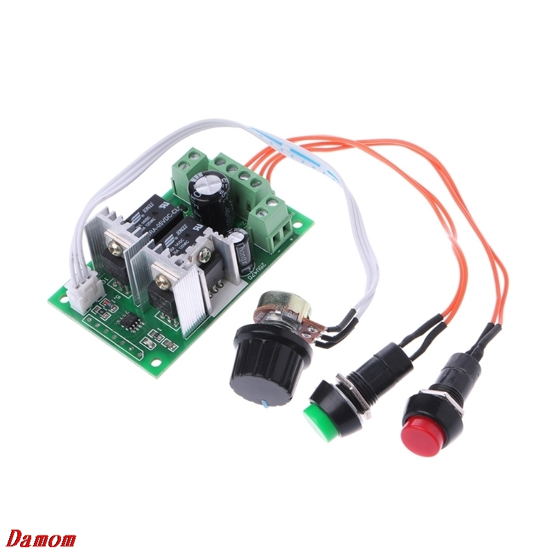 DC 6V12V 24V PWM DC Motor Speed Regulator Controller Switch Linear Actuator DamomDC 6V12V 24V PWM DC Motor Speed Regulator Controller Switch Linear Actuator Damom