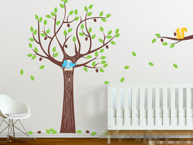 Wall Mirrors Ireland PromotionShop For Promotional Wall Mirrors - Nursery wall decals ireland