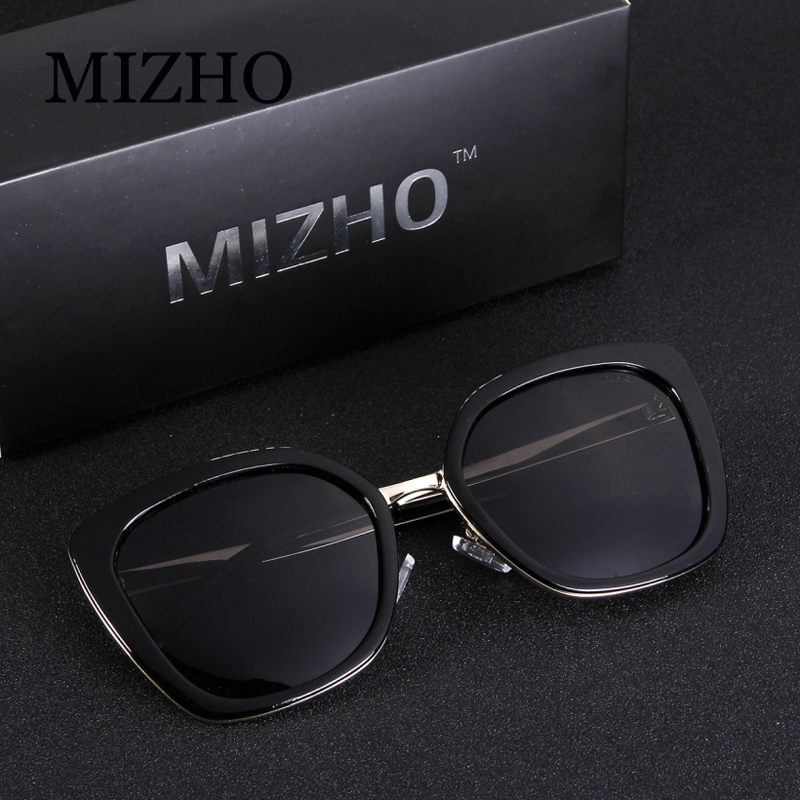 6614a3e8d3 MIZHO Real HD Visual Celebrity Polarized Women Sunglasses Cat eye Mirrored  UV Protection womens sunglasses brand designer 2019-in Sunglasses from  Apparel ...