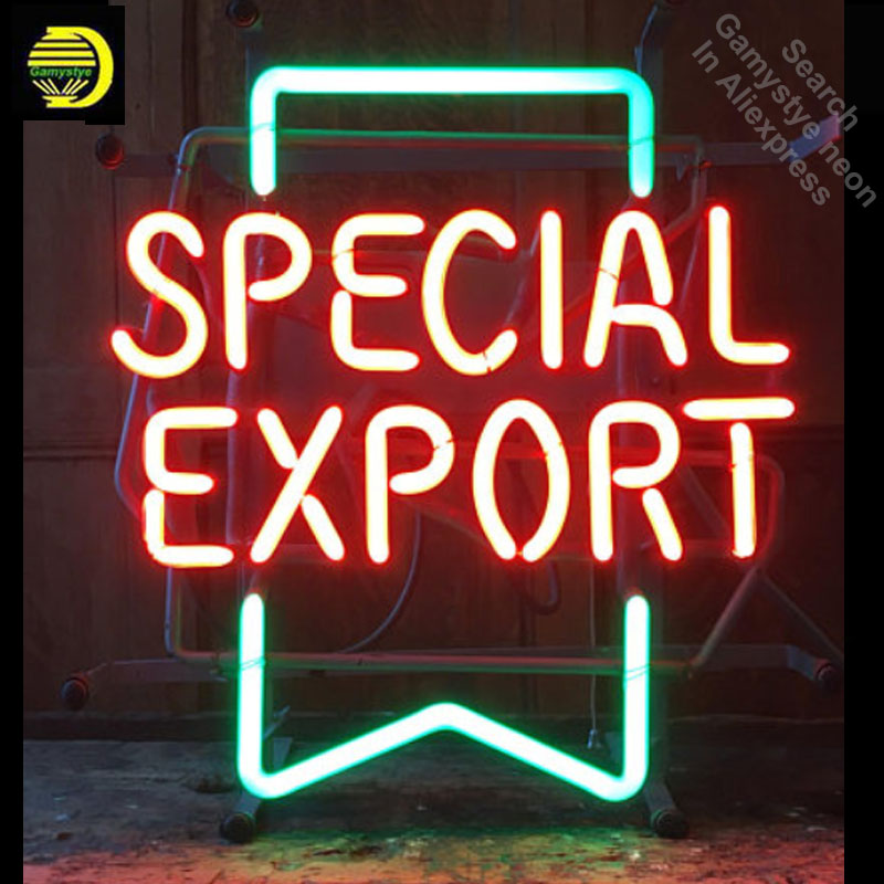 Neon Sign for Vintage Special Export Neon Bulb sign Business Display Handmade neon signboard personalized with metal frame image