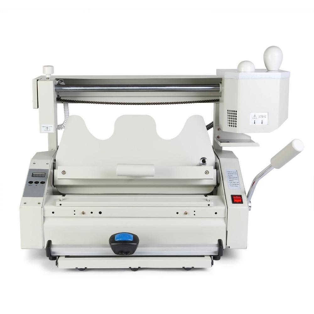 VEVOR Wireless Glue Book Binding Machine Hot Glue Binder 4 In 1 Hot Glue Binder Milling Tool 500 Sheets