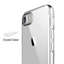 цена на Transparent Phone Case for iPhone 7 Case 7 Plus Luxury Soft TPU Silicone Clear Phone Back Cover for iPhone 7 Plus Cases 7Plus