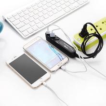 Go2link 2.1A 3 Порта USB ЕС США Plug Путешествия Стены AC Зарядное Устройство Адаптер для iphone 4 5s 5c 6 7 для samsung galaxy s5 s4 s3 ТЕЛЕФОН