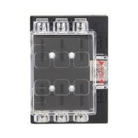 1pcs DC32V 6 Way Circuit Car Boat Auto Automotive Blade Fuse Box Block Holder