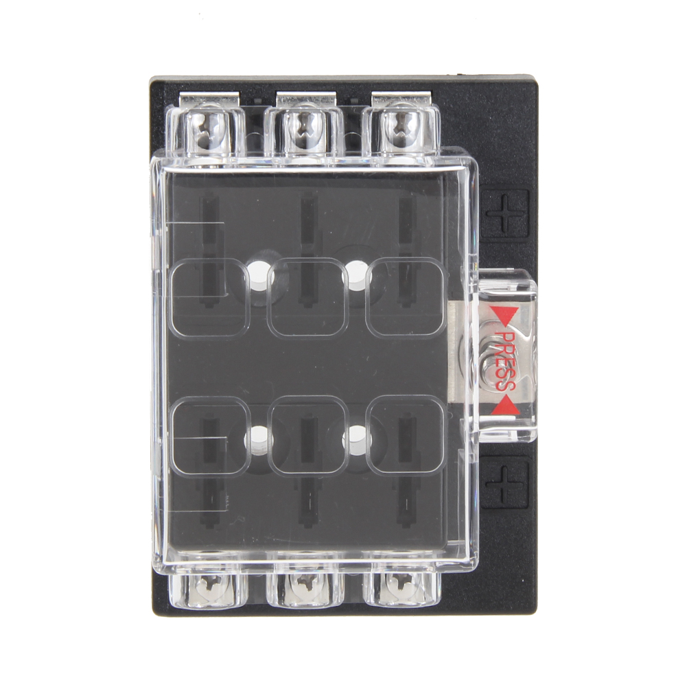 Vodool Dc 32v 6 Way Circuit Car Boat Auto Automotive Atc Ato Blade Fuse Box Block Holder For Universal High Quality In Fuses From Automobiles