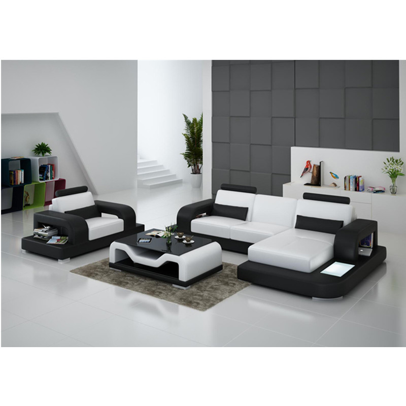 Stupendous Us 1359 0 G8007E White And Black Contemporary Recliner Sofa Set Designs In Living Room Sets From Furniture On Aliexpress Theyellowbook Wood Chair Design Ideas Theyellowbookinfo