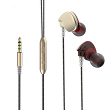 PADEWOR WE-16 Earphones With 3.5mm Wired Earphone Earbuds Stereo Head phone For Mobile Computer