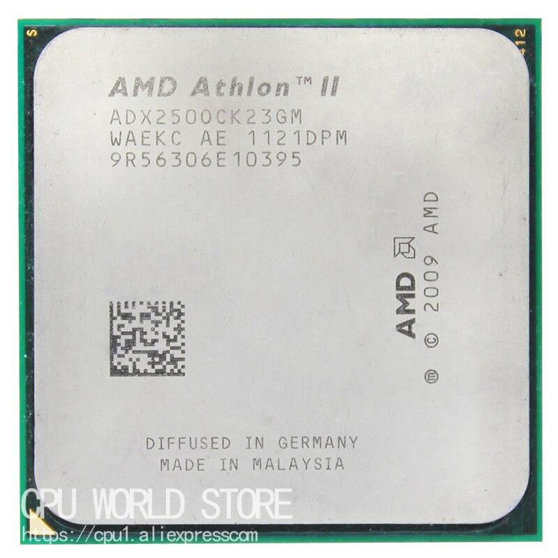 AMD Athlon II X2 250 CPU Processeur 3.0 Ghz/2 M/2000 GHz Socket am3 am2 + 938 broches de travail