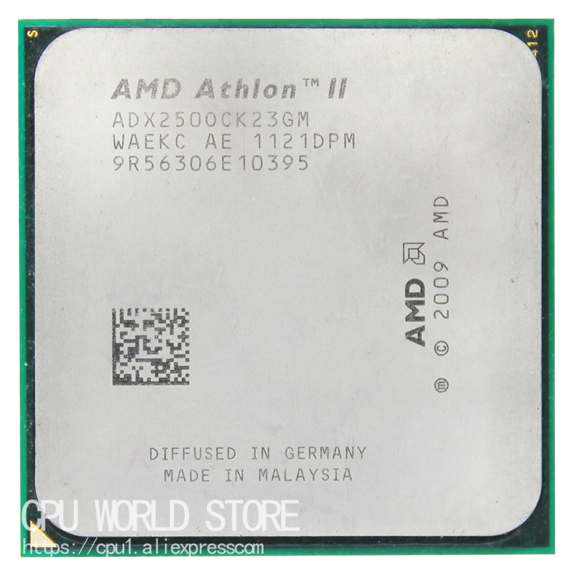 AMD Athlon II X2 250 CPU Processor 3.0Ghz/ 2M /2000GHz Socket Am3 Am2+ 938 Pin Working