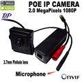 1080 p POE mini Cámara IP mini cámara POE cámara ip de Audio HD Cámara de Red Soporte P2P ONVIF, Power Over Ethernet IPC web cam