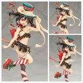 Фигурку YAZAWA нико действие альтер-образным любовь онлайн! 25 см пвх маки Nishikino купальник вер. Сексуальная прекрасная кукла подарок модель аниме