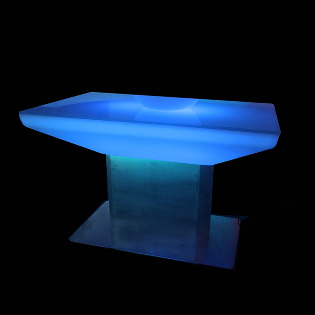 Waterproof Portable Light Bar Coffee Table/ PE RGB Led Cocktail Bar Table SK-LF22 (L88*W54*H56cm)  2pcs/Lot