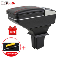 For Chevrolet Trax 2014 2017 Armrest Box Central Store Content Box Products Interior Armrest Storage Center Console Accessory