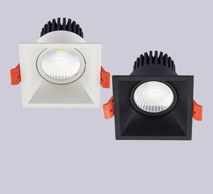 Downlight COB Recessed-Square Ceiling-Lamp Led-Decoration Dimmable AC85-265V 10w 7w 1pcs