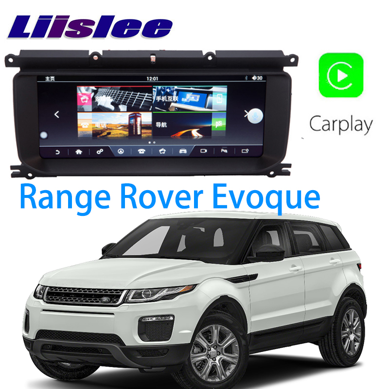 LiisLee Car Multimedia GPS Audio Hi-Fi Radio Stereo For Land Rover Range Rover Evoque 2011~2018 Original Style Navigation NAVI