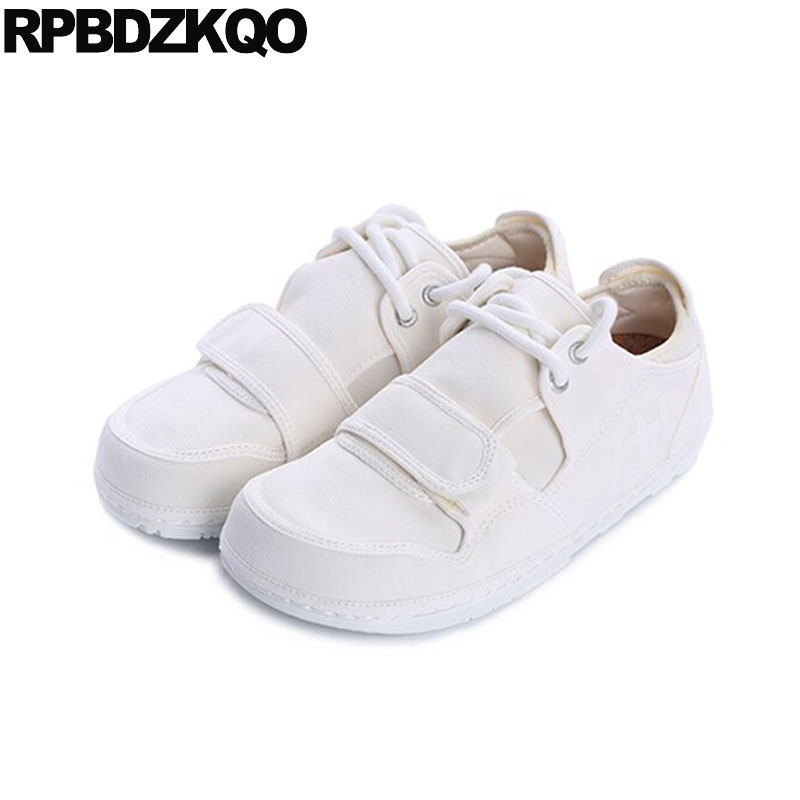 Women High Quality Ladies Plain Canvas Shoes Round Toe Brand Red Lace Up Casual Cloth Breathable Large Size Flats 11 12 44 WhiteWomen High Quality Ladies Plain Canvas Shoes Round Toe Brand Red Lace Up Casual Cloth Breathable Large Size Flats 11 12 44 White