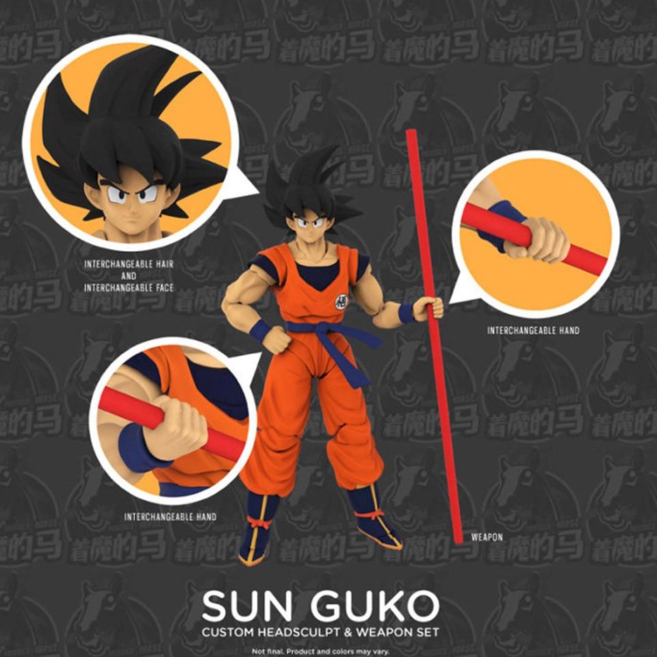 Demoniacal Fit Dragon Ball Goku custom headsculpt weapon set New in stock