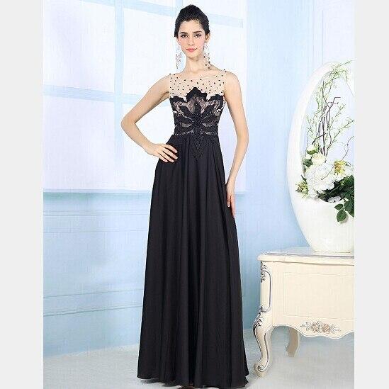 Black Designer Wedding Gowns: 2015 Spring Designer Evening Dresses Sexy See Through