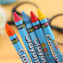 New kawaii children's 8-color painting crayons Office School Painting Supplies gift